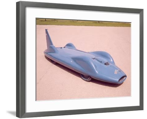 The 1961 Bluebird--Framed Art Print