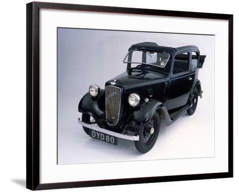 1938 Austin 7 Pearl Cabriolet Car--Framed Art Print