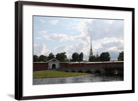 Peter and Paul Fortress, St Petersburg, Russia, 2011-Sheldon Marshall-Framed Art Print