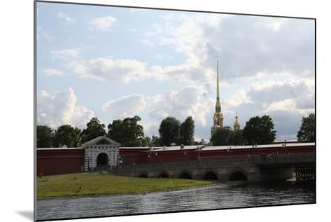 Peter and Paul Fortress, St Petersburg, Russia, 2011-Sheldon Marshall-Mounted Photographic Print