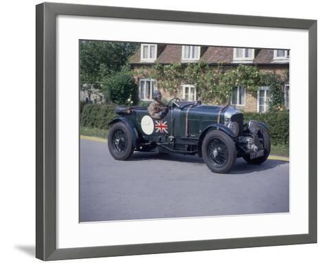 1931 Bentley 4.5 Litre Supercharged--Framed Art Print