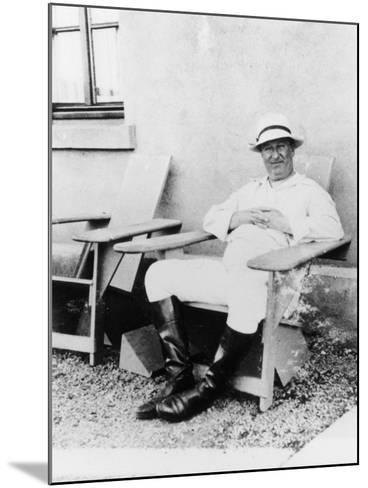 Ettore Bugatti, C1930--Mounted Photographic Print
