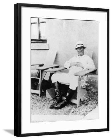 Ettore Bugatti, C1930--Framed Art Print