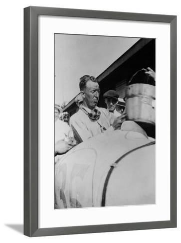 Jimmy Murphy, Winner of the Indianapolis 500, 1922--Framed Art Print