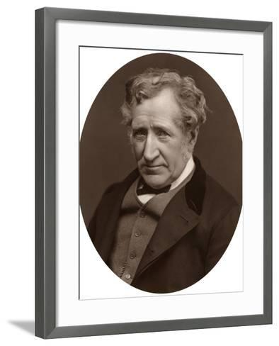 James Nasmyth, Scottish Engineer and Astronomer, 1877-Lock & Whitfield-Framed Art Print