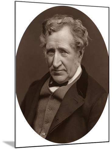 James Nasmyth, Scottish Engineer and Astronomer, 1877-Lock & Whitfield-Mounted Photographic Print