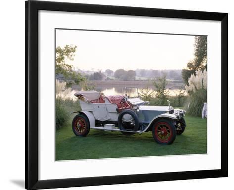 1909 Rolls-Royce Silver Ghost--Framed Art Print