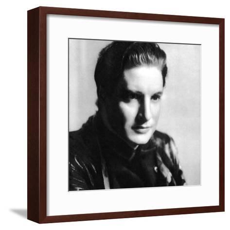 Robert Donat, English Actor, 1934-1935--Framed Art Print