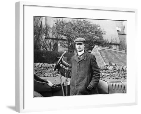 Charles Rolls, C1905--Framed Art Print