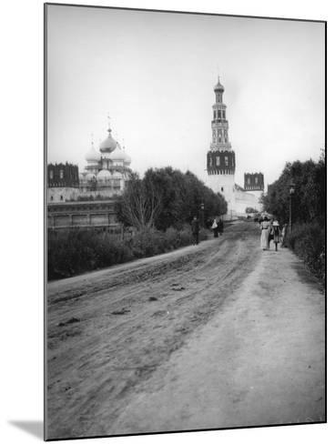 The New Maiden's (Novodevich) Convent, Moscow, Russia, 1900s--Mounted Photographic Print