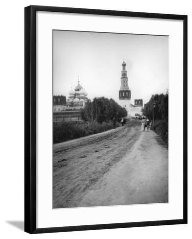 The New Maiden's (Novodevich) Convent, Moscow, Russia, 1900s--Framed Art Print