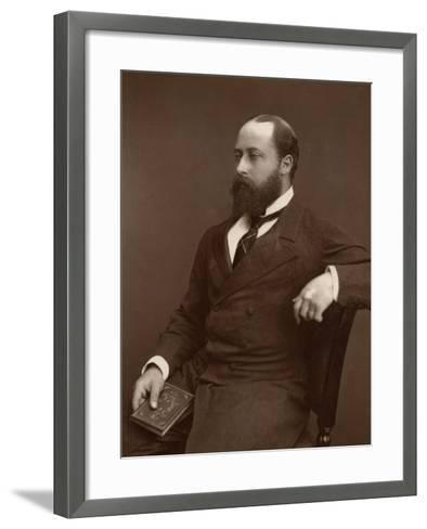 Hrh the Prince of Wales, 1876-Lock & Whitfield-Framed Art Print