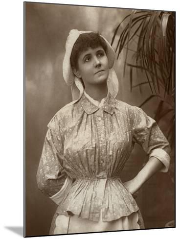Agnes Hewitt, British Actress, 1887-HS Mandelssohn-Mounted Photographic Print
