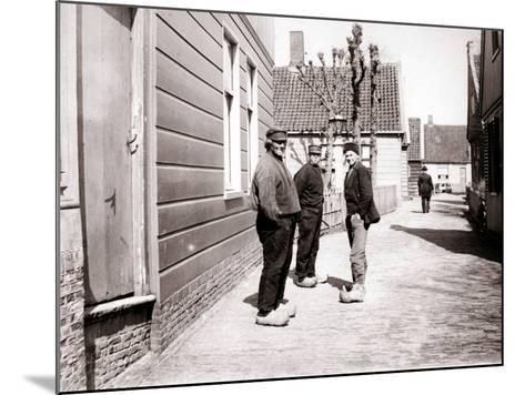 Men in Traditional Costume, Broek, Netherlands, 1898-James Batkin-Mounted Photographic Print