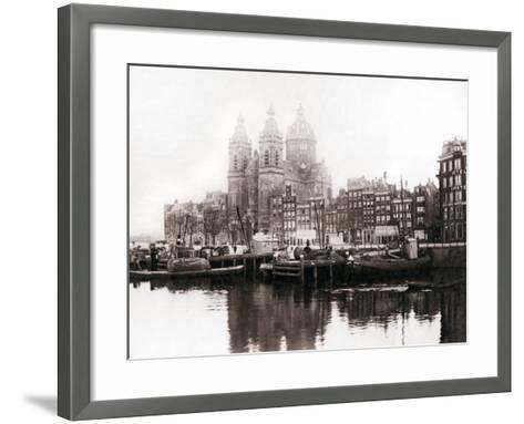 Church of St Nicholas Inside the Walls, Amsterdam, 1898-James Batkin-Framed Art Print