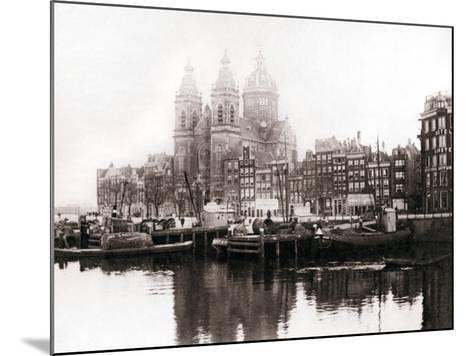 Church of St Nicholas Inside the Walls, Amsterdam, 1898-James Batkin-Mounted Photographic Print
