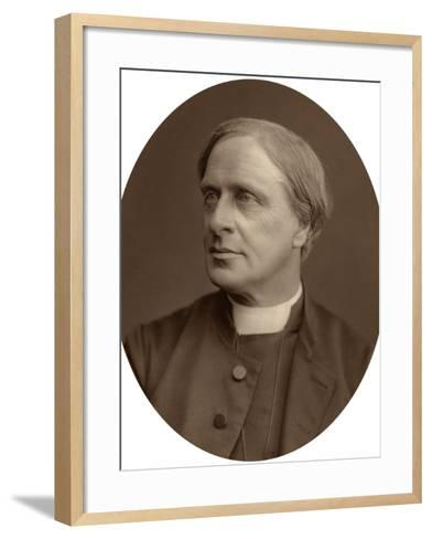 Edward White Benson, Lord Bishop of Truro, 1880-Lock & Whitfield-Framed Art Print