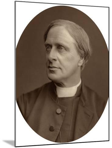 Edward White Benson, Lord Bishop of Truro, 1880-Lock & Whitfield-Mounted Photographic Print