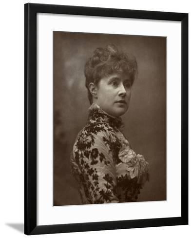 Alice Lingard, British Actress and Singer, 1884-Herbert Rose Barraud-Framed Art Print