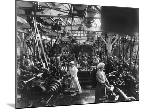 Munitions Factory, London, World War I, 1914-1918- Haua-Mounted Photographic Print
