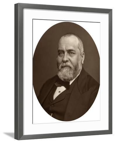 Sir Francis Philip Cunliffe Owen, Director of the South Kensington Museum, 1880-Lock & Whitfield-Framed Art Print
