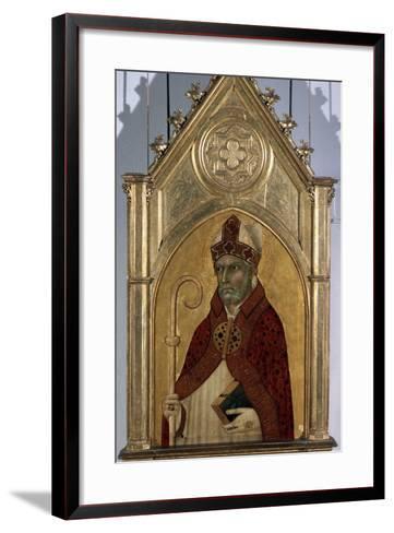 Saint Augustine, 1320S-Simone Martini-Framed Art Print