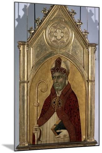 Saint Augustine, 1320S-Simone Martini-Mounted Photographic Print