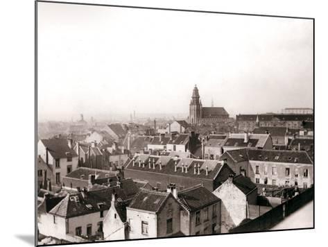 Antwerp Skyline, 1898-James Batkin-Mounted Photographic Print