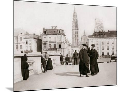 Priests, Antwerp, 1898-James Batkin-Mounted Photographic Print