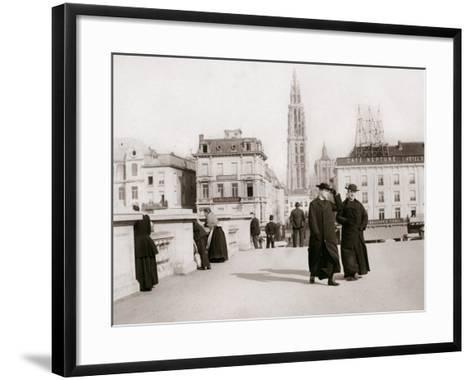 Priests, Antwerp, 1898-James Batkin-Framed Art Print