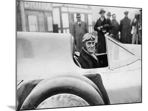 Malcolm Campbell in Bluebird, 1935--Mounted Photographic Print