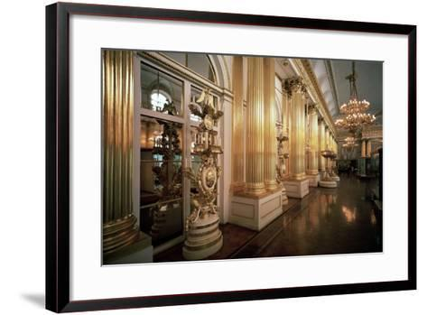 The Heraldic Hall in the Winter Palace, 1839-Vasily Stasov-Framed Art Print