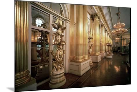The Heraldic Hall in the Winter Palace, 1839-Vasily Stasov-Mounted Photographic Print
