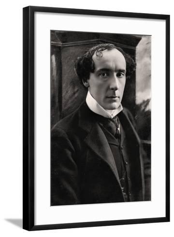 Harry Brodribb Irving (1870-191), English Actor, Early 20th Century- Vandyk-Framed Art Print