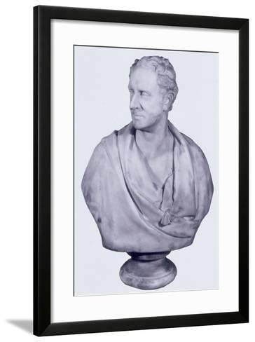 Sir David Salomans, 1858-William Behnes-Framed Art Print