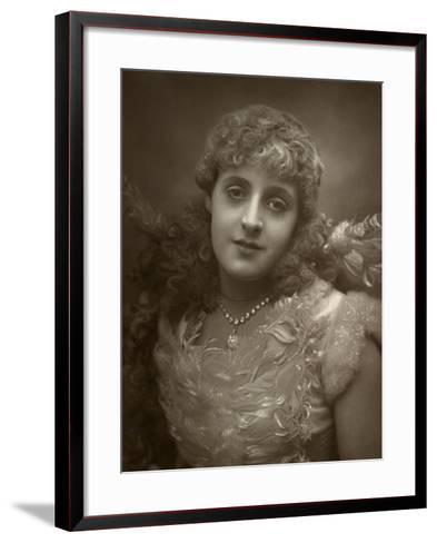 Phyllis Broughton, British Actress, 1884-Samuel A Walker-Framed Art Print