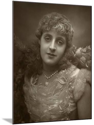 Phyllis Broughton, British Actress, 1884-Samuel A Walker-Mounted Photographic Print