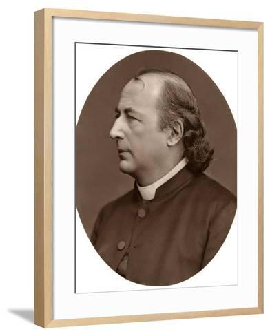 Hyacinthe Loyson (Pere Hyacinth), French Catholic Priest, 1876-Lock & Whitfield-Framed Art Print