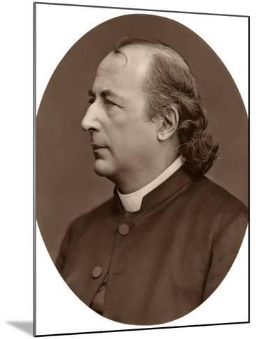 Hyacinthe Loyson (Pere Hyacinth), French Catholic Priest, 1876-Lock & Whitfield-Mounted Photographic Print
