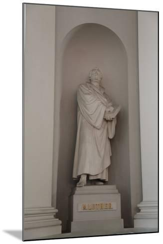 Statue of Martin Luther, Lutheran Cathedral, Helsinki, Finland, 2011-Sheldon Marshall-Mounted Photographic Print