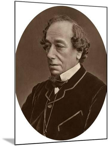 Benjamin Disraeli, Earl of Beaconsfield, Prime Minister, 1881--Mounted Photographic Print