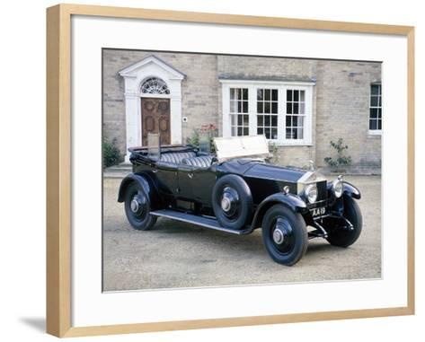 A 1925 Rolls-Royce Phantom I--Framed Art Print