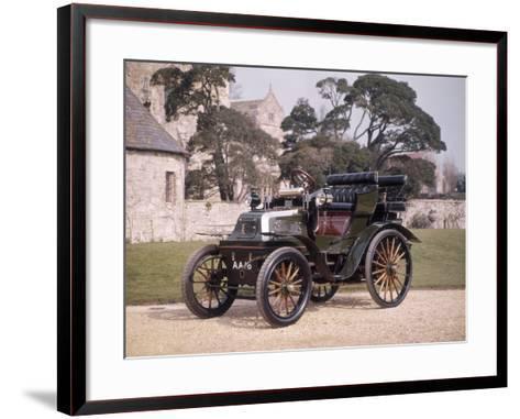 1899 Daimler Horseless Carriage--Framed Art Print