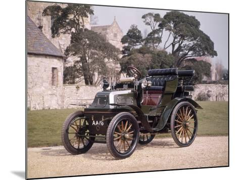 1899 Daimler Horseless Carriage--Mounted Photographic Print