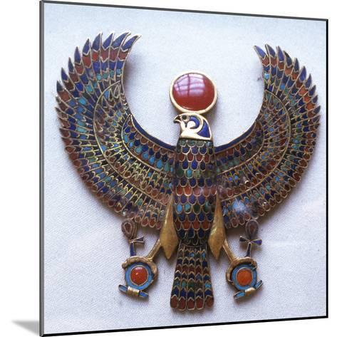 Pectoral Jewel from the Treasure of Tutankhamun, Ancient Egyptian, C1325 Bc--Mounted Photographic Print