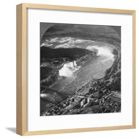 Niagara Falls, USA, C1900s--Framed Art Print