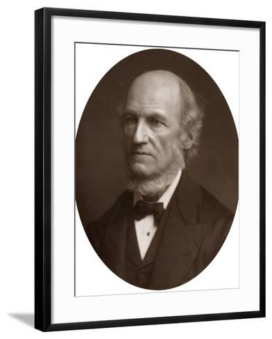 William Benjamin Carpenter, Cb, Md, Lld, Frs, Fls, Fgs, English Physiologist and Naturalist, 1883-Lock & Whitfield-Framed Art Print