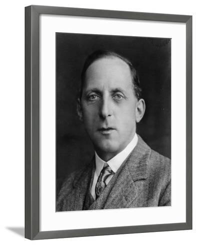 George Lanchester--Framed Art Print