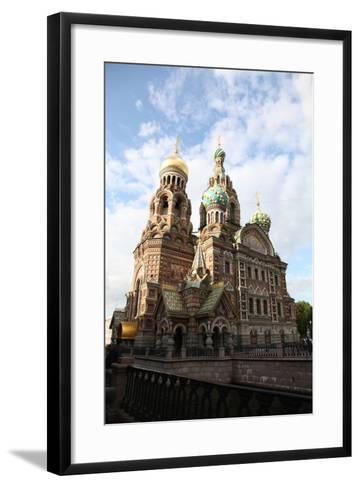 Church of the Saviour on Blood, St Petersburg, Russia, 2011-Sheldon Marshall-Framed Art Print