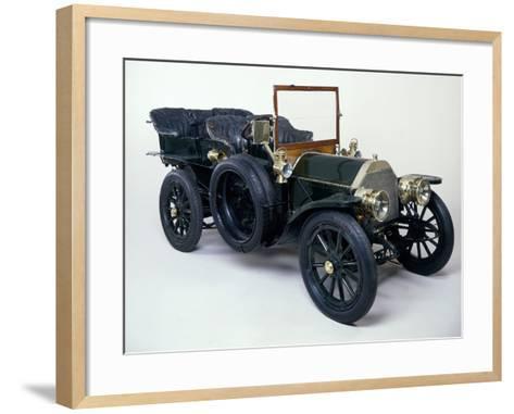 A 1903 Mercedes 60Hp--Framed Art Print